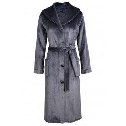 Robe de chambre boutonnée en fourrure ESSENTIEL 550 vison