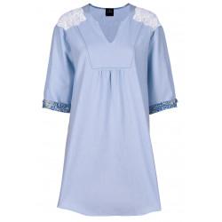 Chemise de nuit 100% coton BLEUET 601