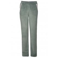 Veste longue homewear ESSENTIEL 270 Indigo 100% coton