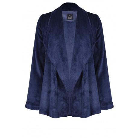Veste homewear drapée en fourrure ESSENTIEL 773