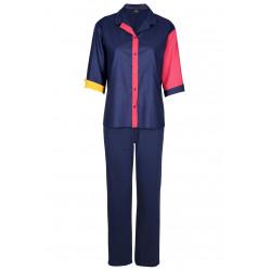 Pyjama boutonné en coton ESCALE 806