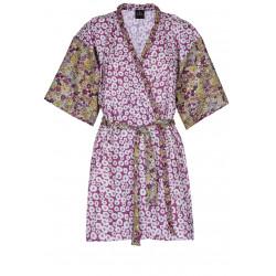 Peignoir kimono imprimé 100% coton MAGGIE 860