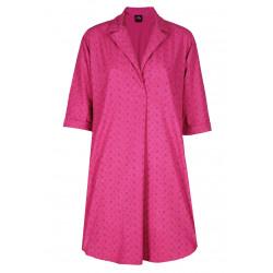 Chemise de nuit boutonnée en coton MINA 805
