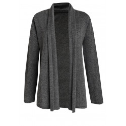 Cardigan ouvert 100% CACHEMIRE anthracite