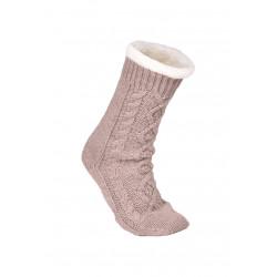 Chaussettes fourrées ESSENTIEL 393 gris chiné