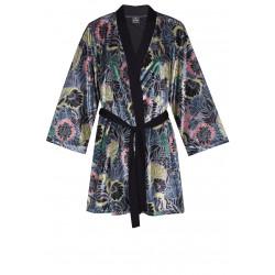 Peignoir kimono en velours TRESOR 560