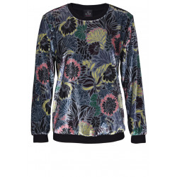 Sweat-shirt en velours TRESOR 570