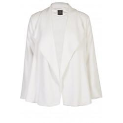 Veste homewear drapée en fourrure ESSENTIEL 173 écru