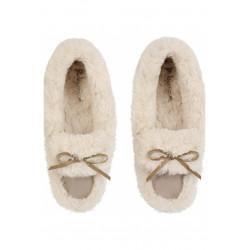 Chaussons Boots NUAGE écru
