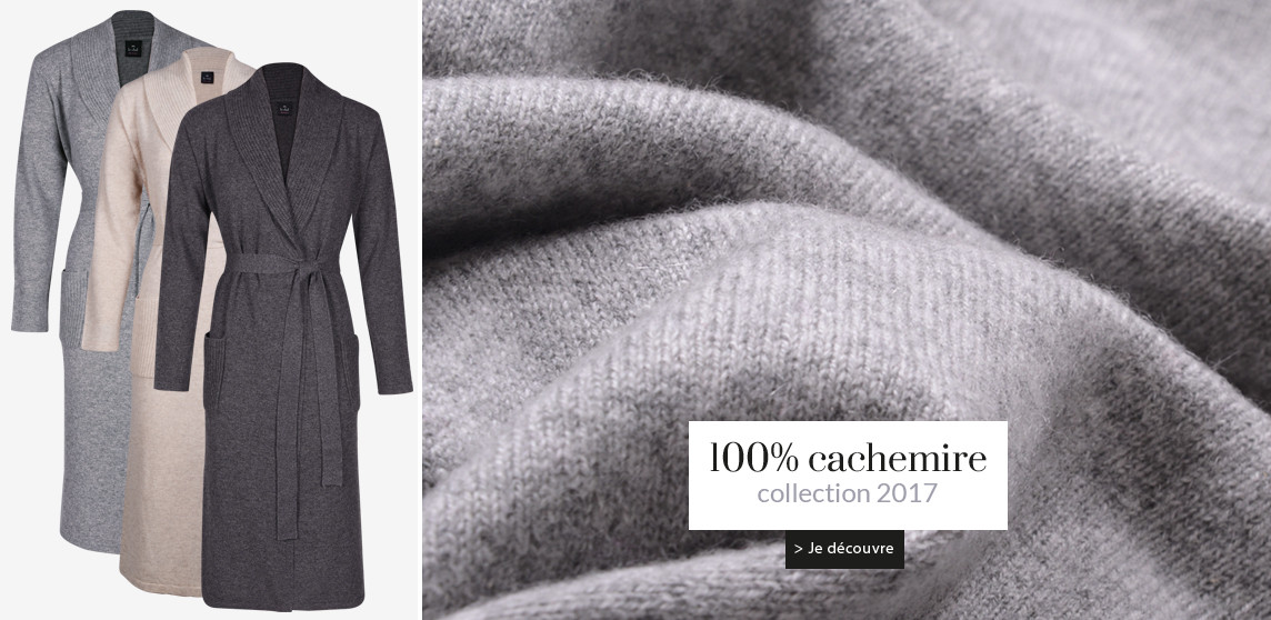 Collection Homewear 100% CACHEMIRE