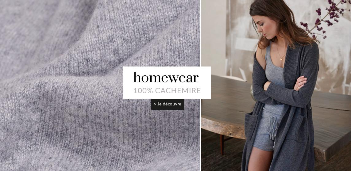 homewear cachemire pour femme